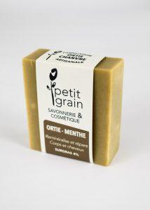 savon Ortie Menthe Petit Grain