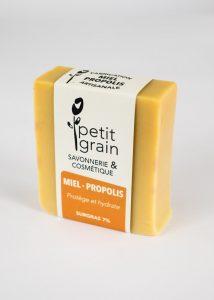 savon Miel Propolis Petit Grain