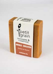 savon Argile Benjoin Petit Grain