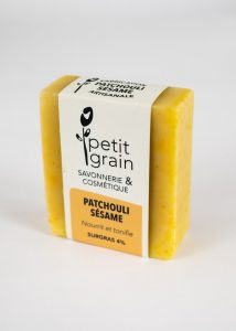 savon Patchouli Sésame Petit Grain